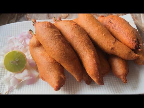 Mirchi bajji recipe mirapakaya bajji Recipe chilli fritters
