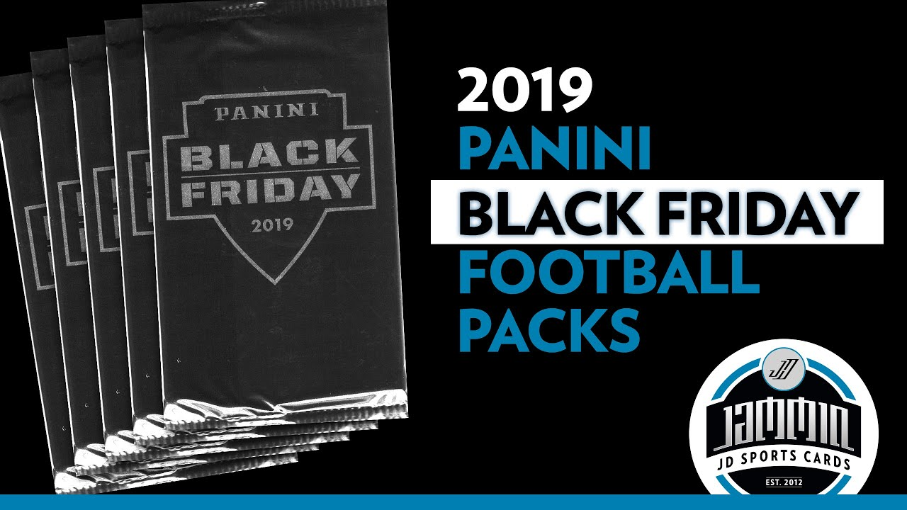 Download 2019 Panini Black Friday Football Packs x 5 (1 Thick Pack!)