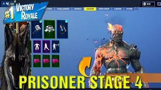 Fortnite How To Find And Unlock Prisoner Skin Stage 4 Secret Location LIVE!