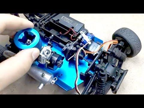 Nitro Engine On Car Rc Fix Arabamı Tamir Ettim