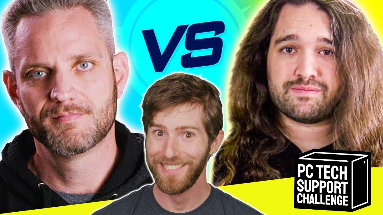 ULTIMATE PC Tech Support Challenge - Jayztwocents vs Gamers Nexus