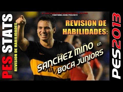 Stats Sanchez Miño en Boca Juniors / Revisión hilidades PES + PESEDIT ...