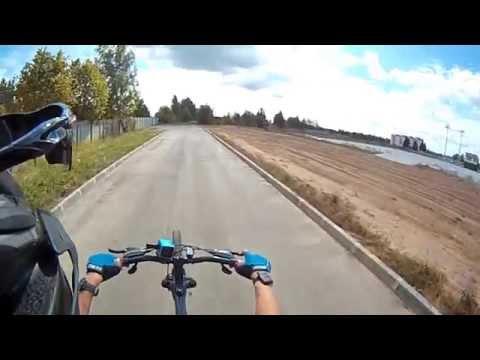 как ездить на заднем колесе на велосипеде / Смоленск 2015