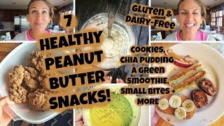 Healthy Peanut Butter Snacks For The Nut Butter Obsessed!