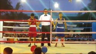 Palarong Pambansa 2016 Boxing Champioship Negros vs Region 9 Mosquito Division