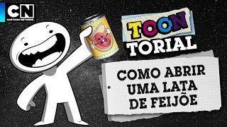 Wie öffnet man eine Dose Bohnen? | Toontorial | Cartoon Network