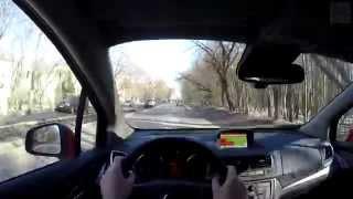 Opel Mokka - Day&Night FPV Driving in 4k / Безмолвная поездка в 4k на Опель Мокка (3840х2160)