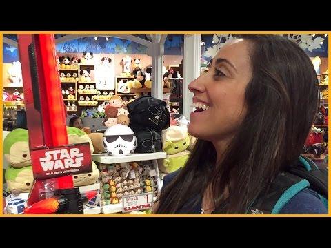 RAQUEL GAMER VLOG: LOJA DA DISNEY EM MIAMI (Star Wars + Marvel)