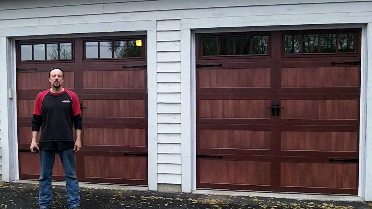 Accents CHI Overhead Garage Doors Model # 5916,5983,5283   YouTube