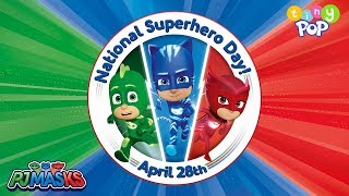 PJ Masks | Tiny Pop's National Superhero Day at Hamleys | Tiny Pop