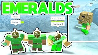 EMERALDS + SHIPWRECKS + CRYSTAL METEOR!!! (Roblox Booga Booga)