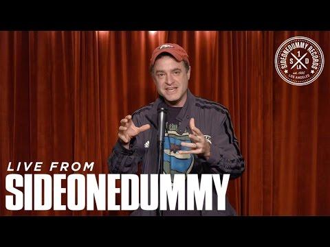 Matt Besser at the SideOneDummy Storytellers