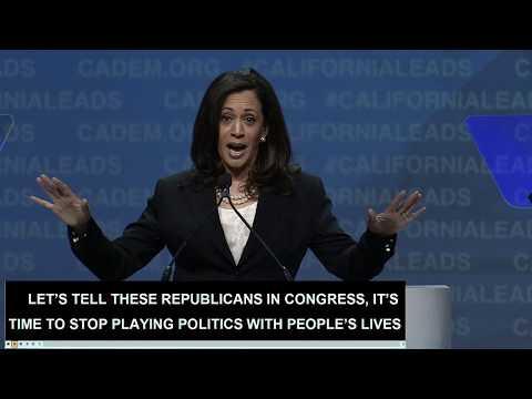 U.S. Senator Kamala Harris CADEM 2017 Convention