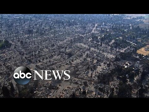 California wildfires are the deadliest fire disaster in state history