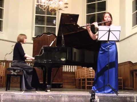 C. Franck sonata 1/4 Anne Brackman & Cathelijne Noorland