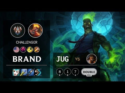 Brand Jungle Vs Jarvan IV - NA Challenger Patch 10.5