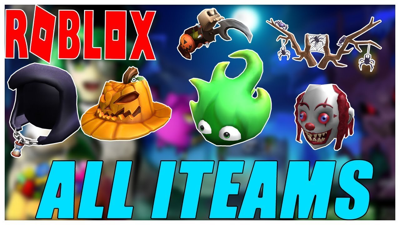 Halloween 2020 Roblox Events Sinister Swamp EVENT] HOW TO GET ALL ITEMS   Roblox 2018 Halloween Event