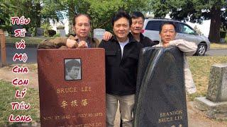 🇨🇦 Bruce Lee & Brandon Lee's Graves // Tiểu Sử và Mộ Cha Con Lý Tiểu Long. Cuộc Sống Canada.