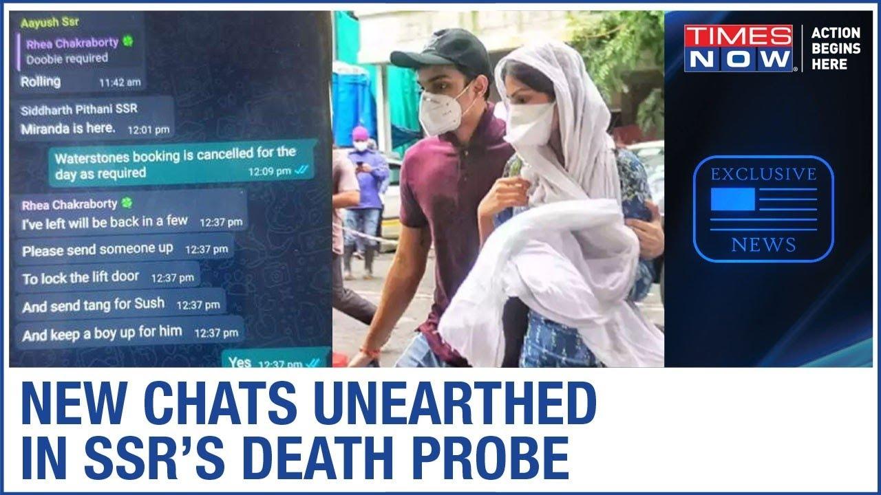 Download Chats between Rhea, Showik, Samuel & Siddharth EXPOSED; Irrefutable proof of drug conspiracy