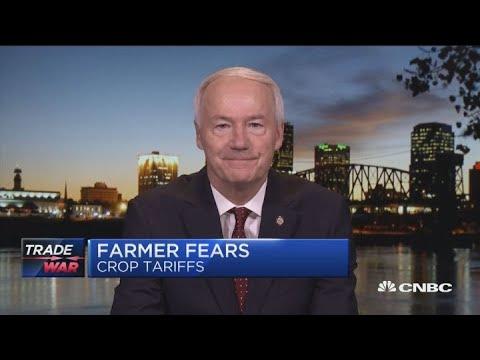 Arkansas farmers fear soybean tariffs as trade war escalates with China