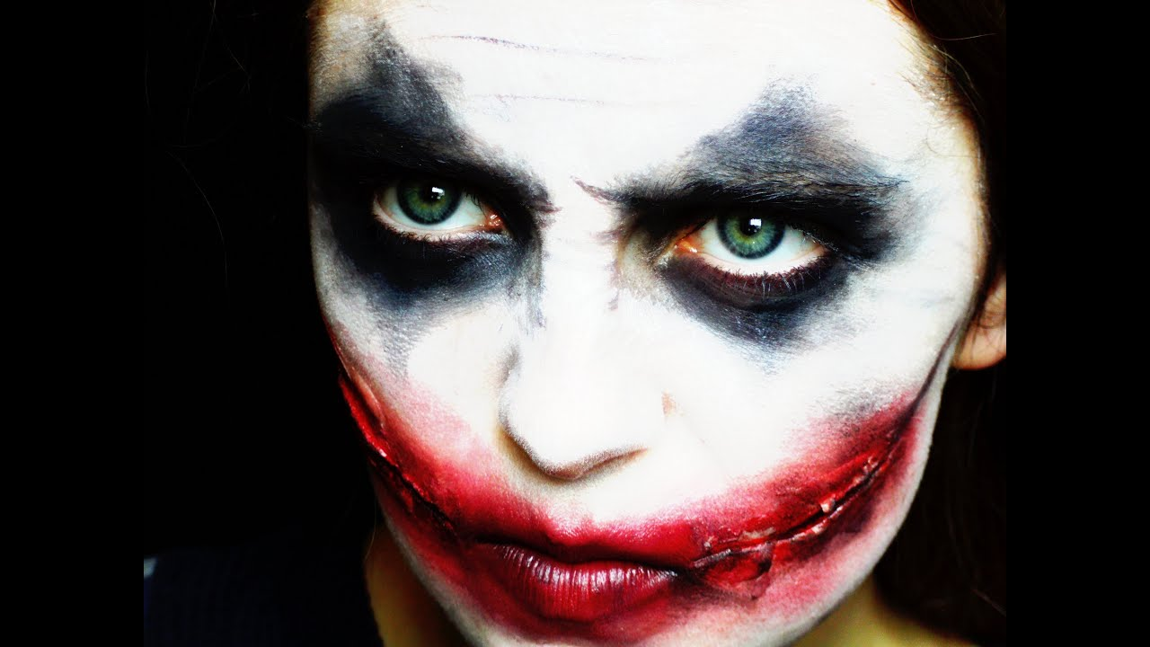 HALLOWEEN | Joker Makeup Tutorial - YouTube