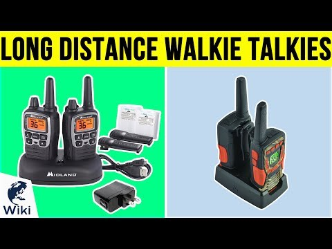 8 Best Long Distance Walkie Talkies 2019 from YouTube · Duration:  3 minutes 48 seconds