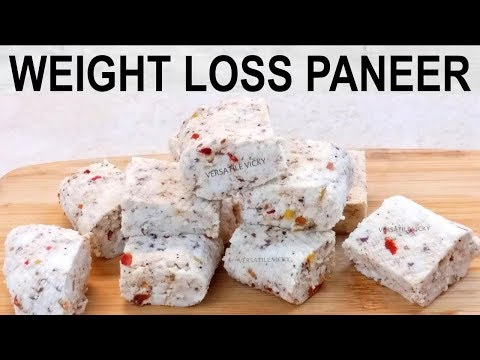 Weight Loss Paneer Recipe | Cottage Cheese / Paneer For Weight Loss