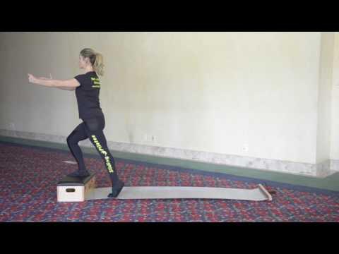 Exercícios de pés e pernas com o Sliding Pilates