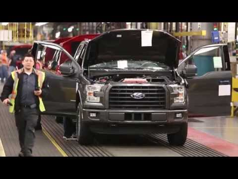 2015 Ford F-150 Assembly Line