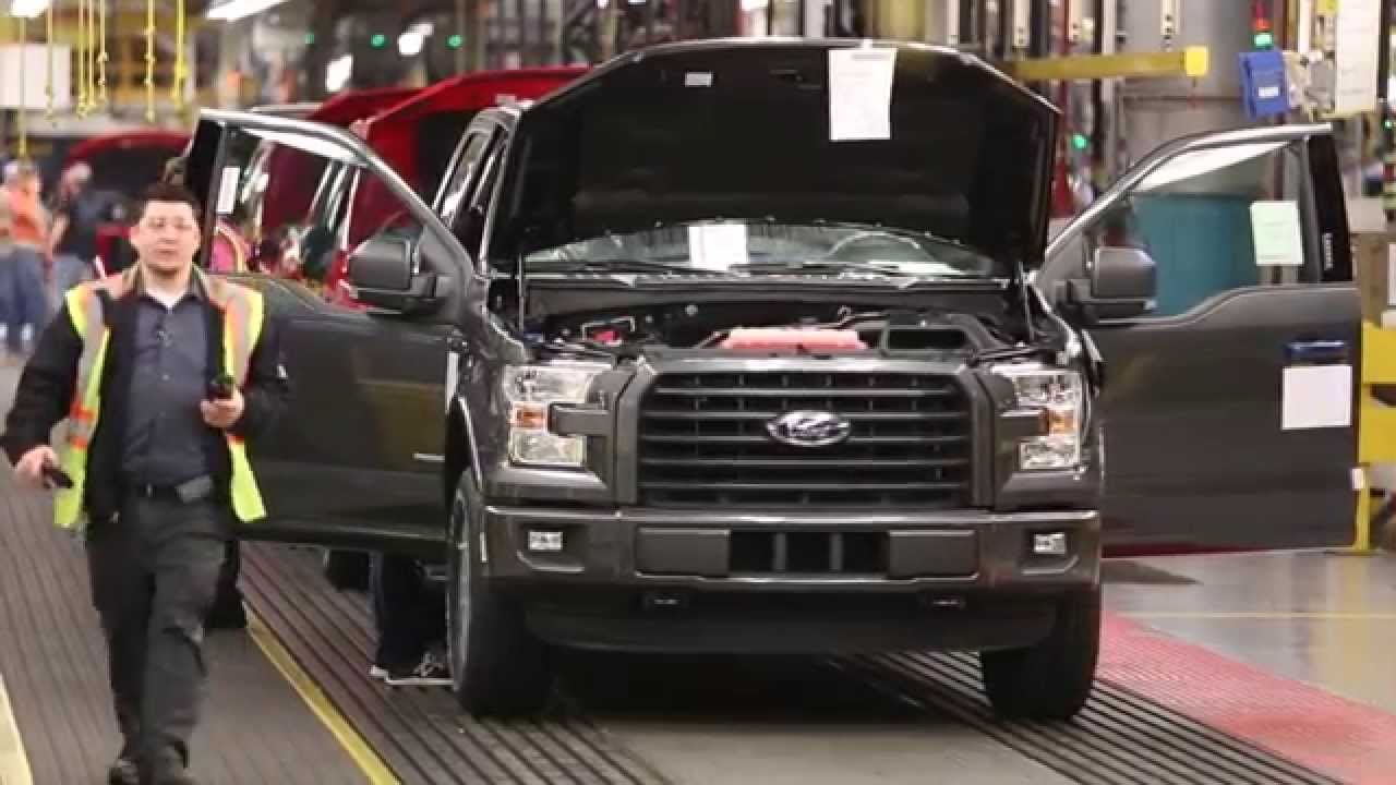 Ford F-150 Assembly Line - YouTube