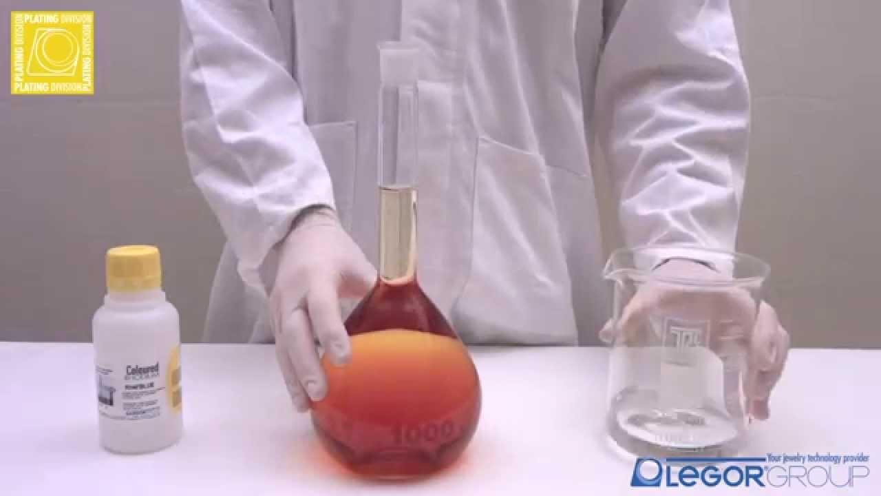 Blue Rhodium Plating Solution - RH4BLUE