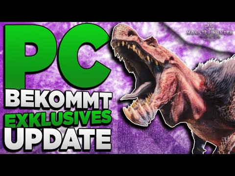 Alle Infos zum krassen Grafik Update - Monster Hunter World wird schöner NEWS thumbnail