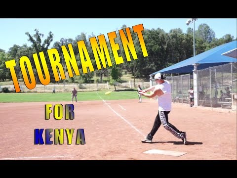 Softball Tournament for Medical Clinic in Kenya Africa