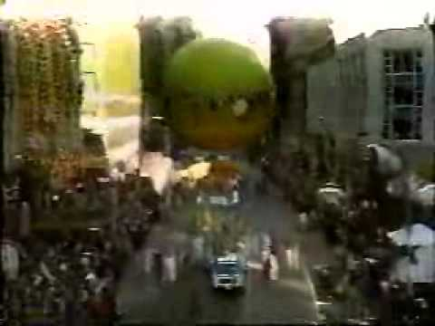 Alvin and the Chipmunks at The 1986 Macy's Thanksgiving Day Parade