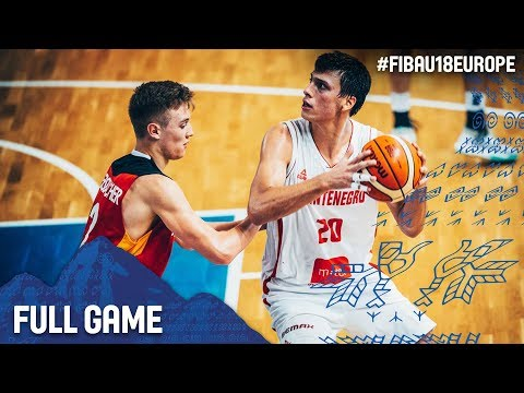 Montenegro v Germany - Full Game - FIBA U18 European Championship 2017