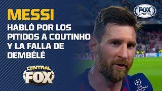 ¡Lionel Messi explica su golazo contra Liverpool!