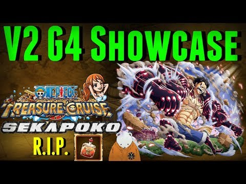 One piece treasure cruise is a hit tap battle rpg mobile game based on. V2 Gear 4 Luffy Oh God I Need Potions Showcase One Piece Treasure Cruise Youtube