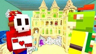 BOWSER JR SAVED THE FUN HOUSE! *HERO!* | Nintendo Fun House | Minecraft [356]