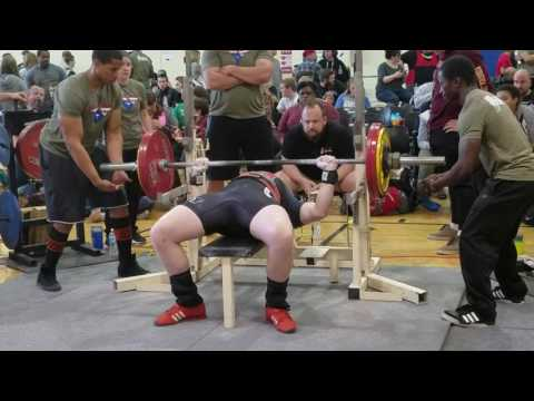 Collin at the USAPL Powerlifting in South Carolina today. April 2017