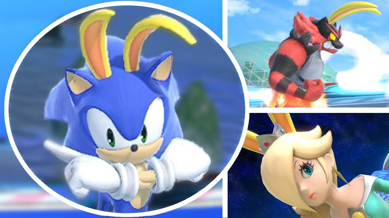 Who Can Survive The Big Blue In Super Smash Bros Ultimate All Characters Racing On Big Blue