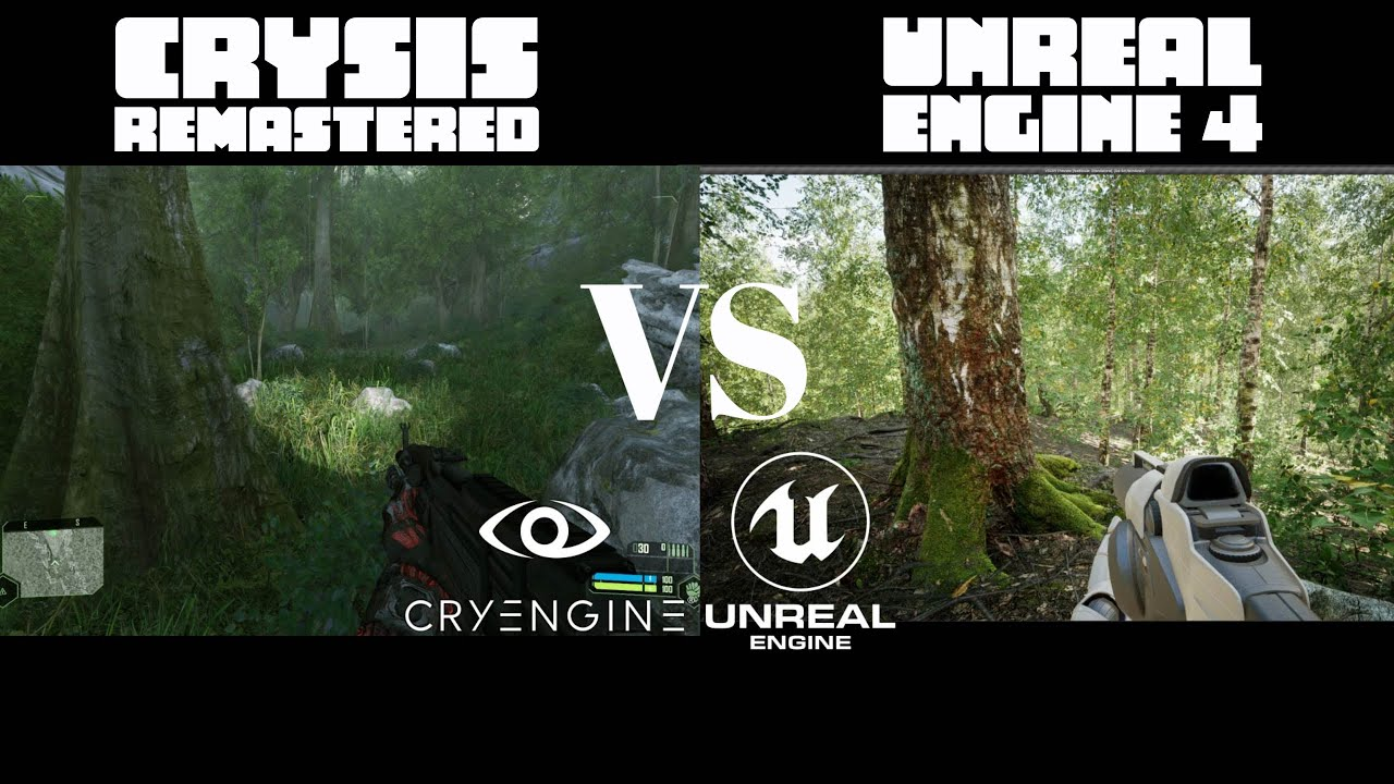 Download Unreal Engine 4 RTX 3090 Realistic Forest vs Crysis Remastered