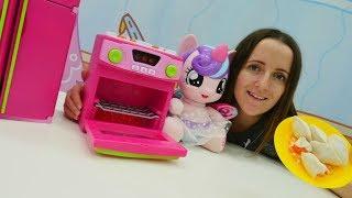 Поняня распаковка: игрушечная духовка для Литл Пони
