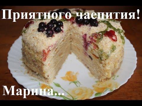 Торт в мультиварке рецепты с фото наполеон
