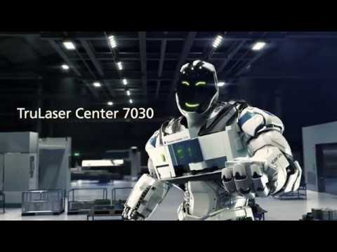 TRUMPF Laser cutting: TruLaser Center 7030 - The first full-service laser machine
