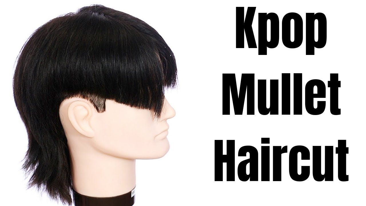 Kpop Mullet Haircut Thesalonguy Youtube