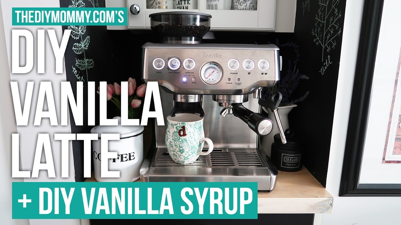 recipe: homemade vanilla syrup for lattes [33]