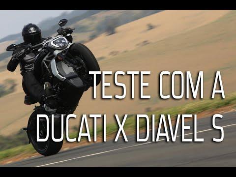 Leandro Mello testa a nova Ducati X Diavel S que chega para criar um novo segmento