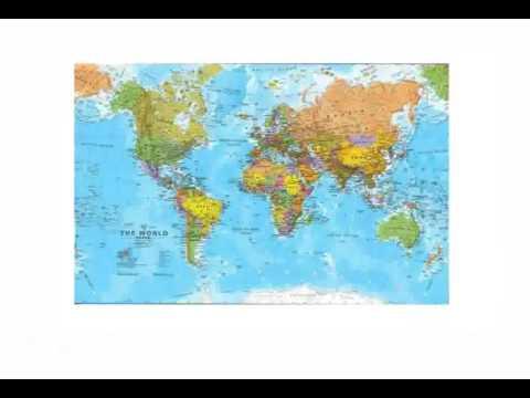 I diversi tipi di carte geografiche youtube - Diversi tipi di trecce ...