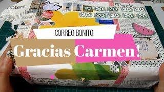 Correo Bonito de Carmen | Pocket letter, Loaded Bag y muchos regalos!