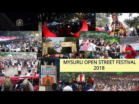 Open street Festival 2018 | Mysore | Mysuru Dasara 2018 |